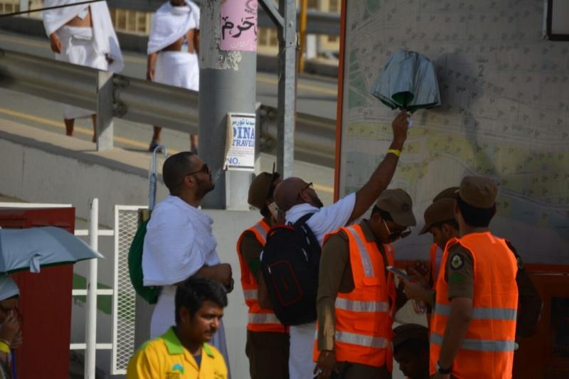 رحلة ضيوف الرحمن من مكة إلى مشعر منى فجر اليوم (313412390) 