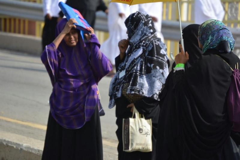رحلة ضيوف الرحمن من مكة إلى مشعر منى فجر اليوم (313412393) 