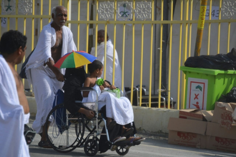 رحلة ضيوف الرحمن من مكة إلى مشعر منى فجر اليوم (313412395) 