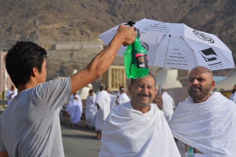 رحلة ضيوف الرحمن من مكة إلى مشعر منى فجر اليوم (313412398) 