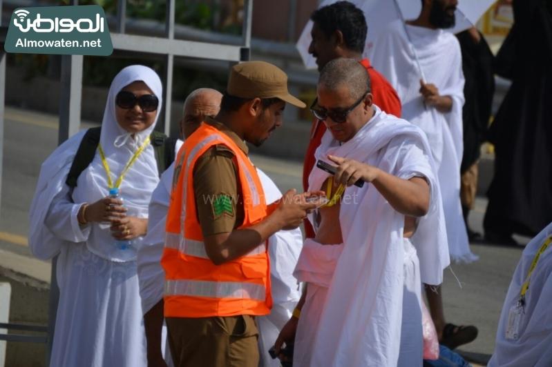 رحلة ضيوف الرحمن من مكة إلى مشعر منى فجر اليوم (313412401) 