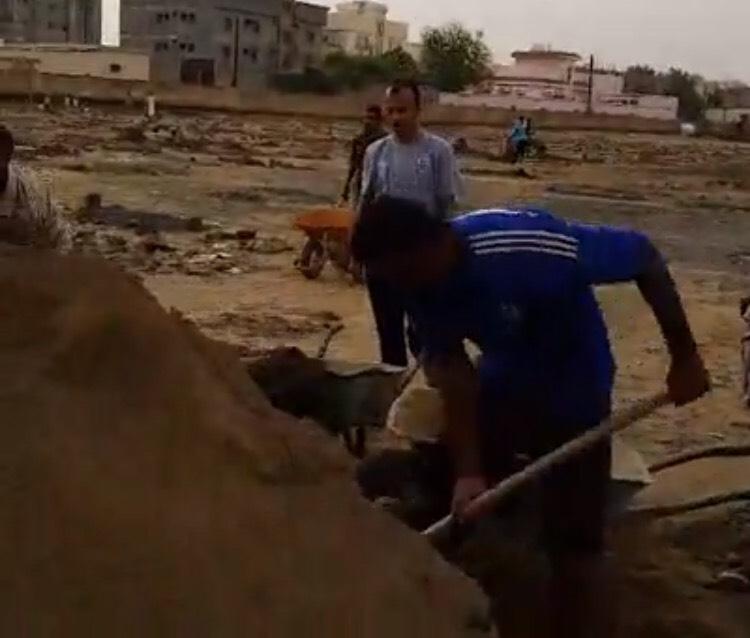 ردم مقابر الحي الشمالي (4)
