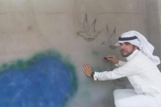 الشلاقي.. رسام موهوب يحاكي التراث الشمالي وتجاهلته جمعية الثقافة والفنون ! - المواطن