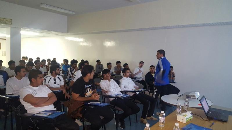 رعاية الشباب بالباحة لكرة القدم تستضيف حكام (3)