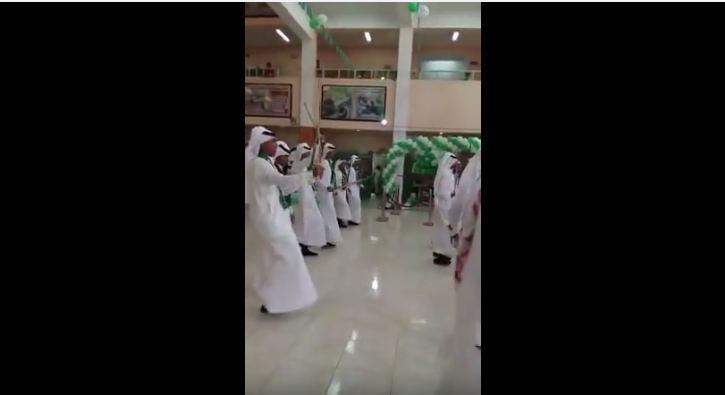 رقص شيلات مدرسة ثانوية