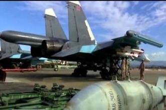 روسيا مقاتلة مزودة بصواريخ