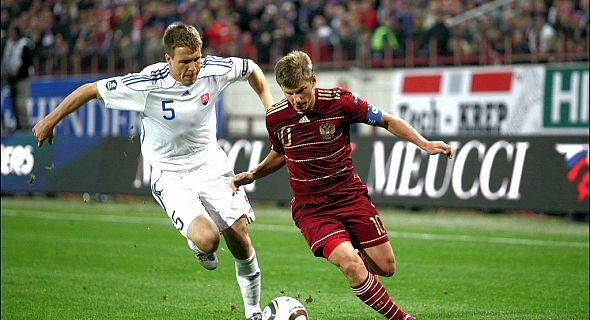 روسيا وسلوفاكيا