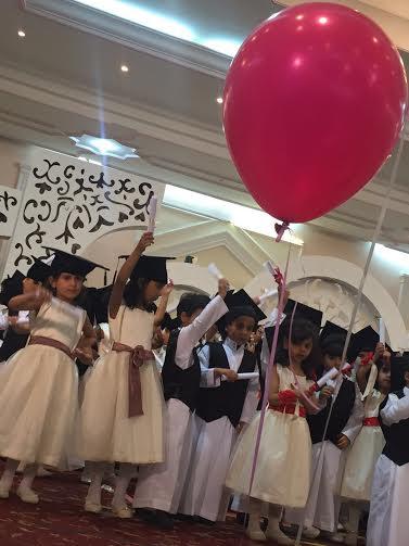 روضة الموهوبين بـ #الباحة تحتفل بتخرج 135 طفلا على طريقتها الخاصة1