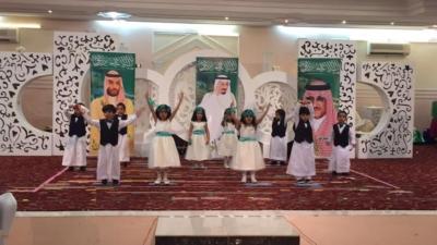 روضة الموهوبين بـ #الباحة تحتفل بتخرج 135 طفلا على طريقتها الخاصة2
