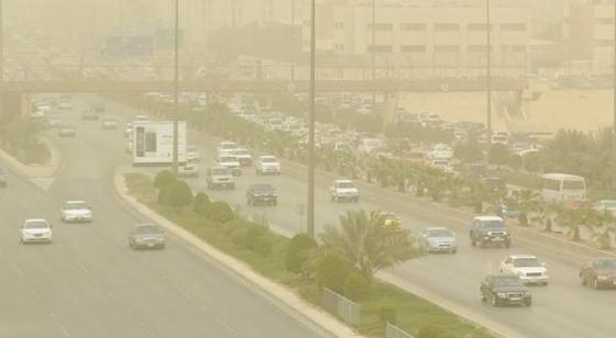 رياح غبار الرياض