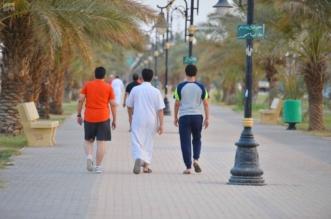 خالد النمر: أسرع في مشيك فهي سنة وصحة - المواطن