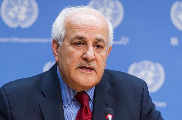 رياض منصور مراقب فلسطين بالامم المتحدة