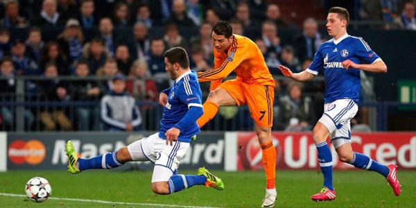 ريال مدريد وشالكه