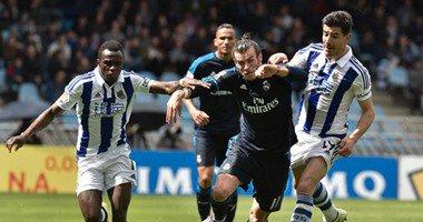 ريال مدريد يتصدر الدوري الإسباني مؤقتا بفوزه على سوسييداد