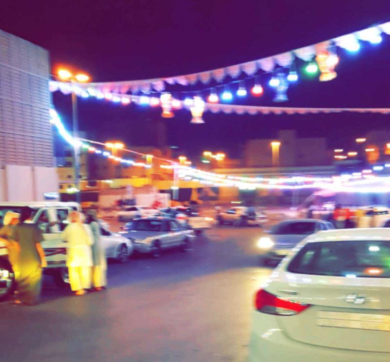 ريان الطائف  يستقبل رمضان  بالفوانيس والعقود المضيئة (2)