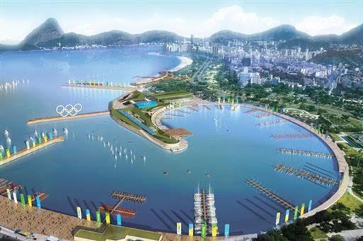 In this computer generated photo illustration released by Comite Rio 2016, the Marina da Glória is shown. The 2016 Olympics are going to Rio de Janeiro, putting the games in South America for the first time. (AP Photo/Comite Rio 2016) ** NO SALES **
