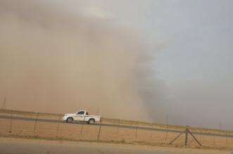 استمرار نشاط الرياح المثيرة للأتربة والغبار يحجب الرؤية على 8 مناطق - المواطن