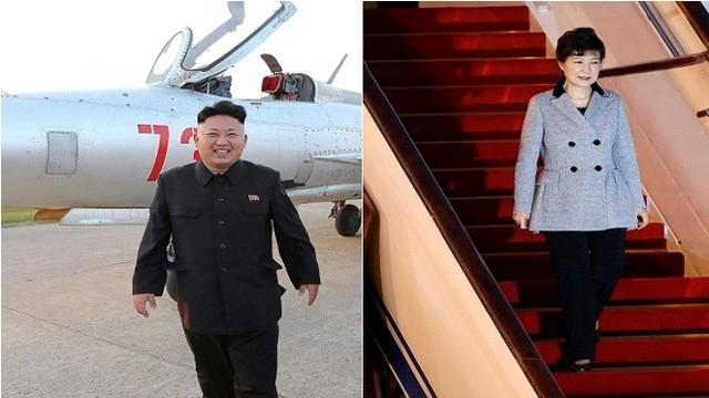زعيمي-الكوريتين