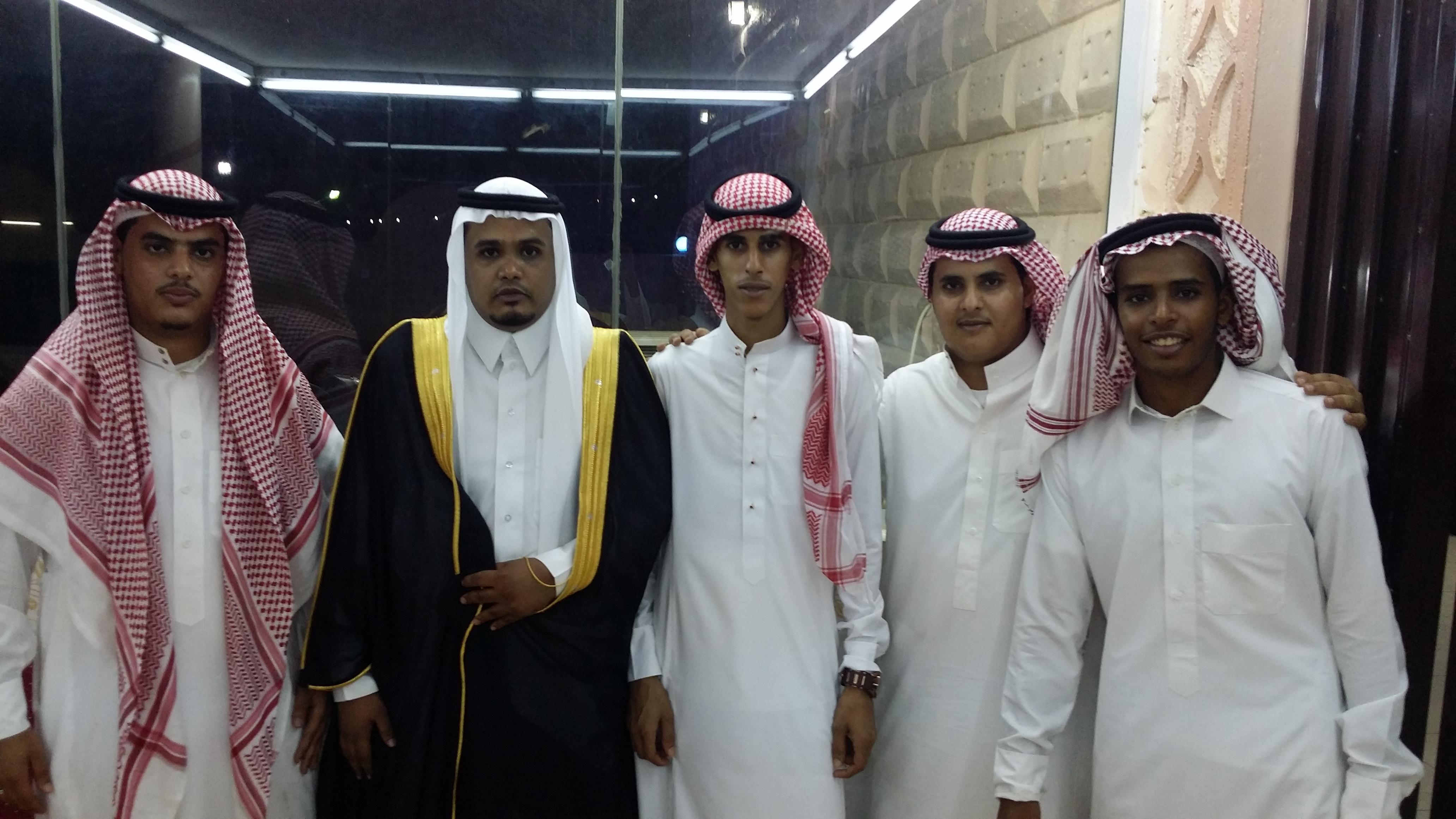 المذارعة تحتفل بزفاف ابنها الشاب عبدالله بـ #أضم - المواطن