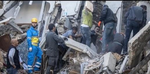 زلزال ايطاليا المدمر