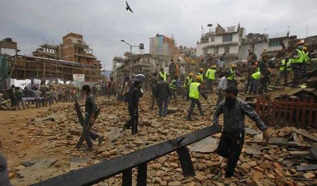 زلزال-نيبال