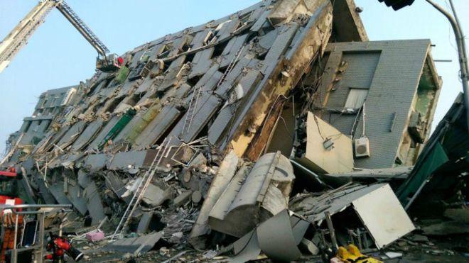 زلزال يضرب تاينان التايوانية