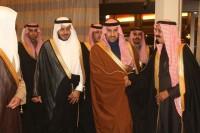 الوزير الضويحي يحتفي بزفاف كريمته