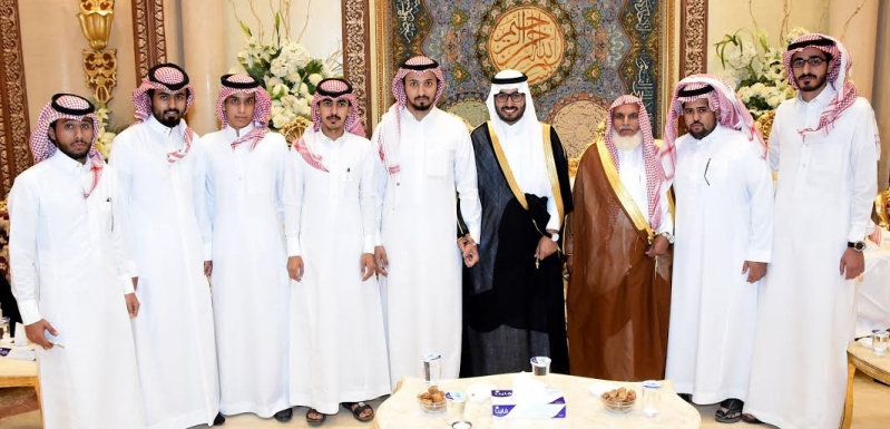 زواج عبد الرحمن الشهري1