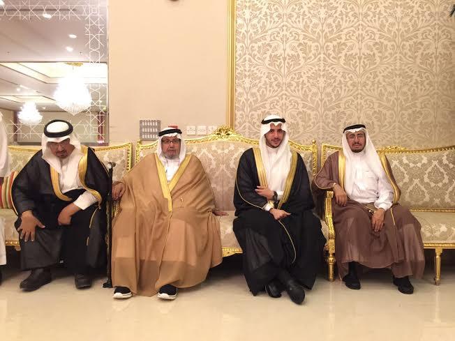 زواج عمر عبدالله الشهري 1