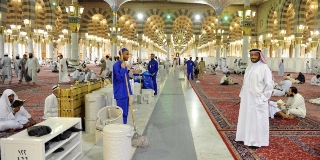 الرئاسة العامة لشؤون المسجد النبوي تبدأ باستقبال الراغبين ...