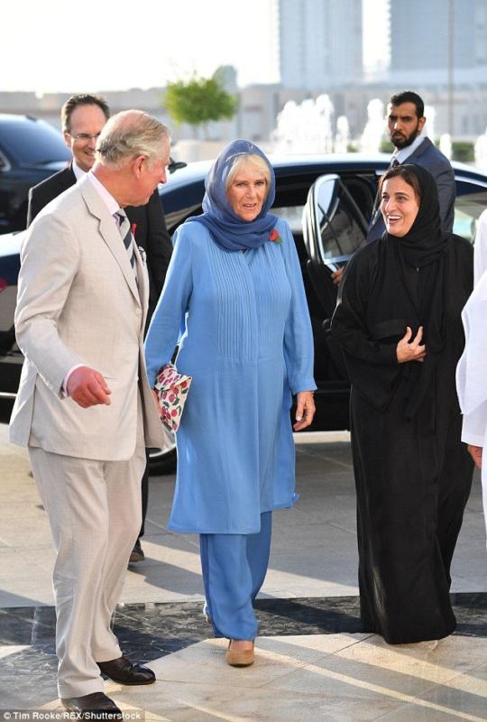 زوجة الامير تشارلز بالحجاب (1)