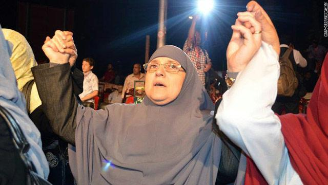 زوجة الرئيس المعزول محمد مرسي