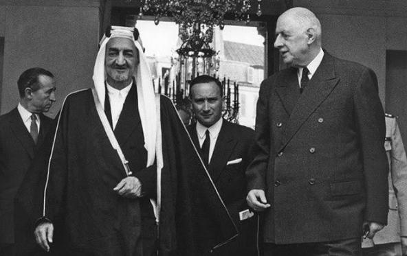 زيارات تاريخية متبادلة بين ملوك السعودية ورؤساء فرنسا (1)