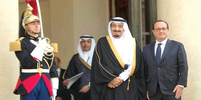 زيارات تاريخية متبادلة بين ملوك السعودية ورؤساء فرنسا