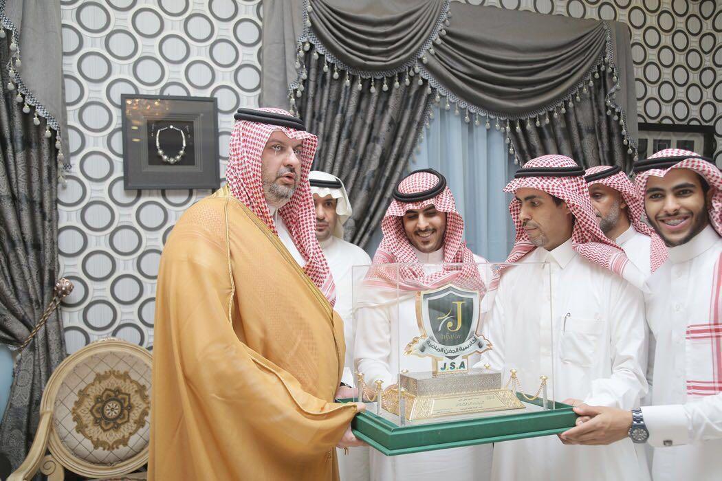 زيارة الأمير عبد الله بن مساعد لمدينة الجفن (6)