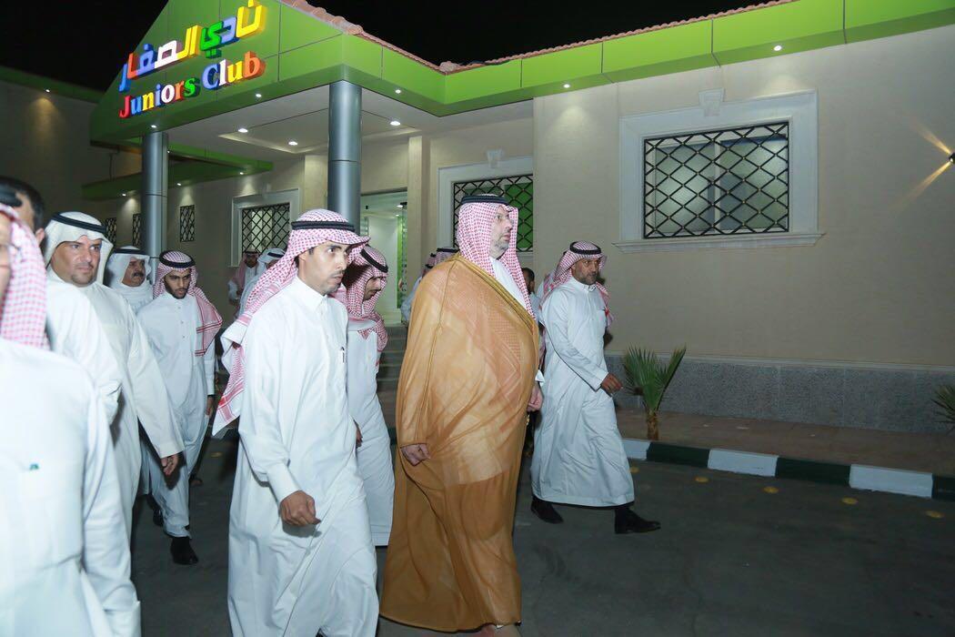 زيارة الأمير عبد الله بن مساعد لمدينة الجفن (7)