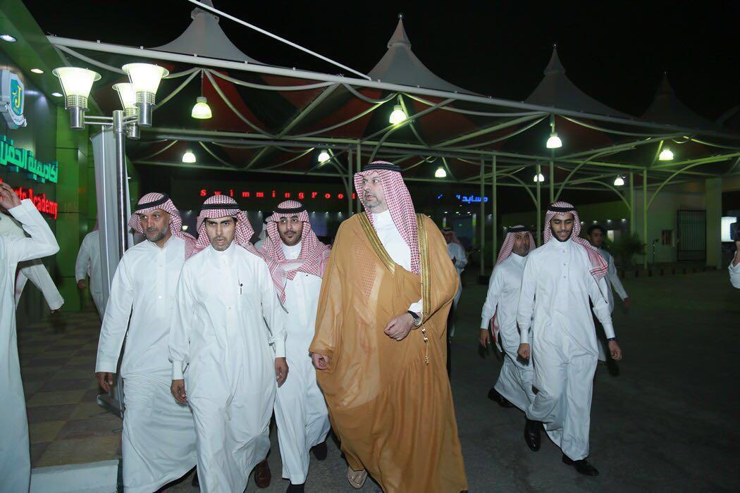 زيارة الأمير عبد الله بن مساعد لمدينة الجفن (8)