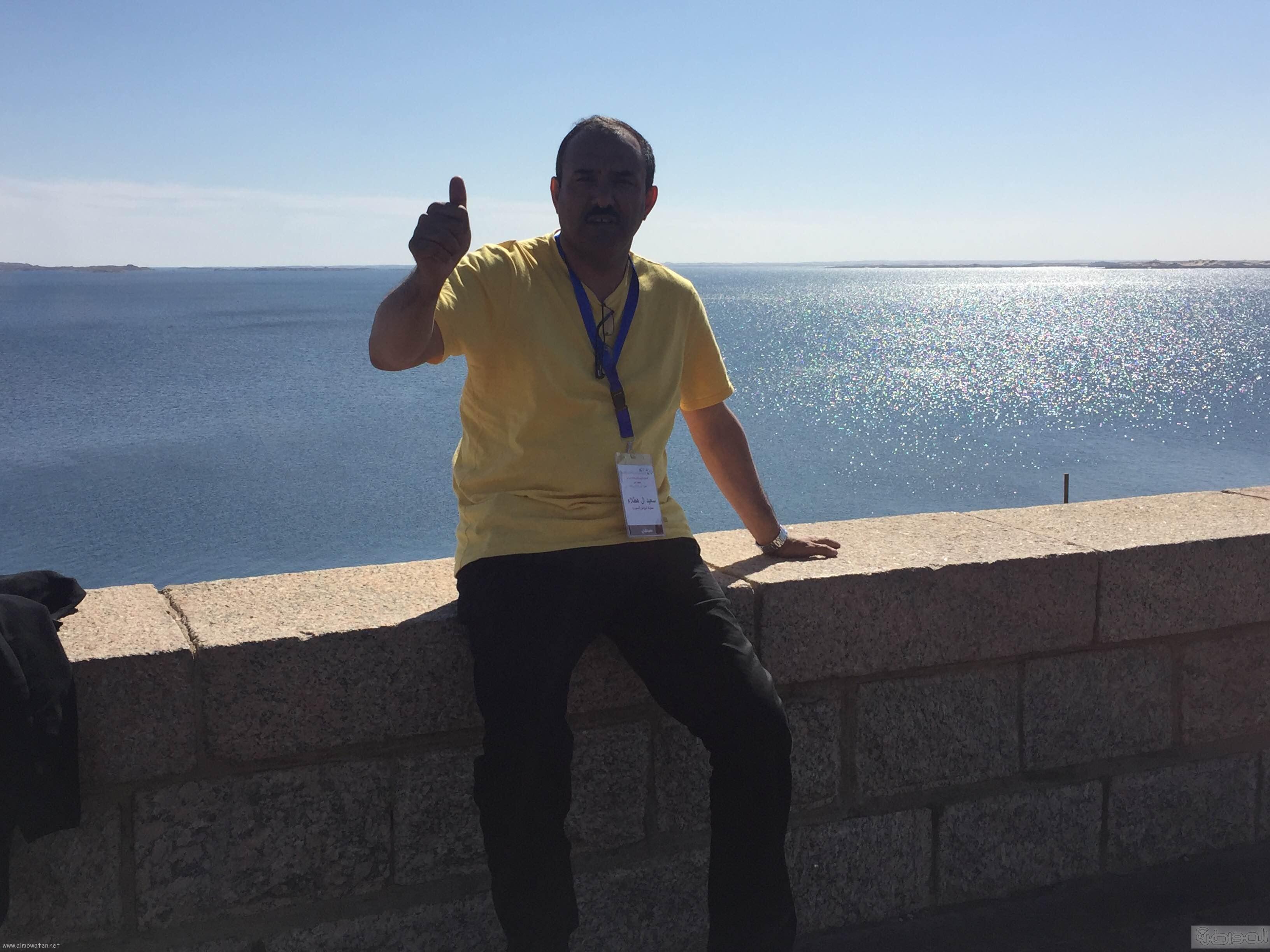 زيارة الاعلام السياحي لمعبد الفيلة والسد العالي باسوان (15)