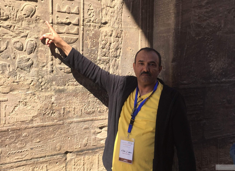 زيارة الاعلام السياحي لمعبد الفيلة والسد العالي باسوان (6)