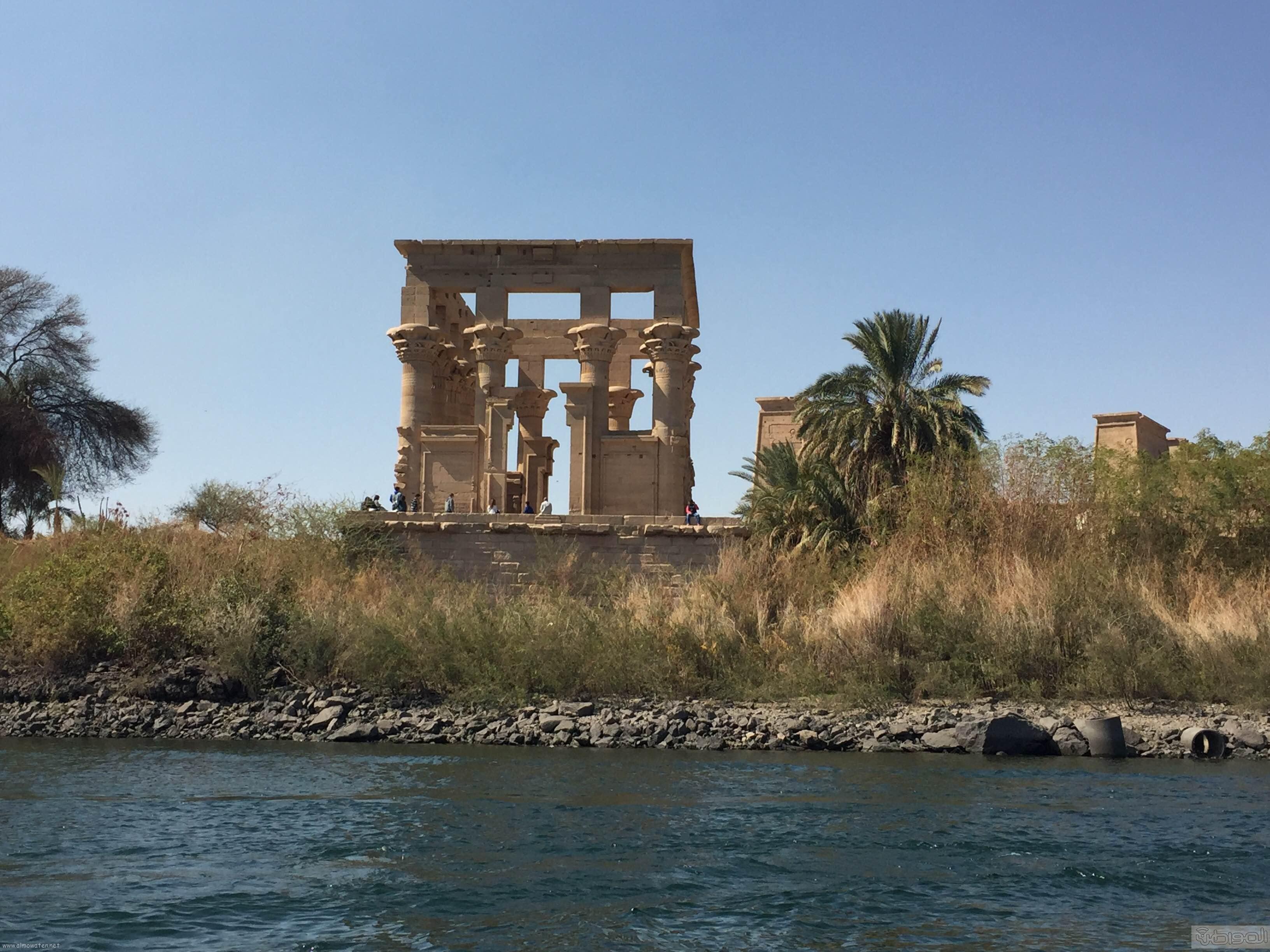 زيارة الاعلام السياحي لمعبد الفيلة والسد العالي باسوان (9)