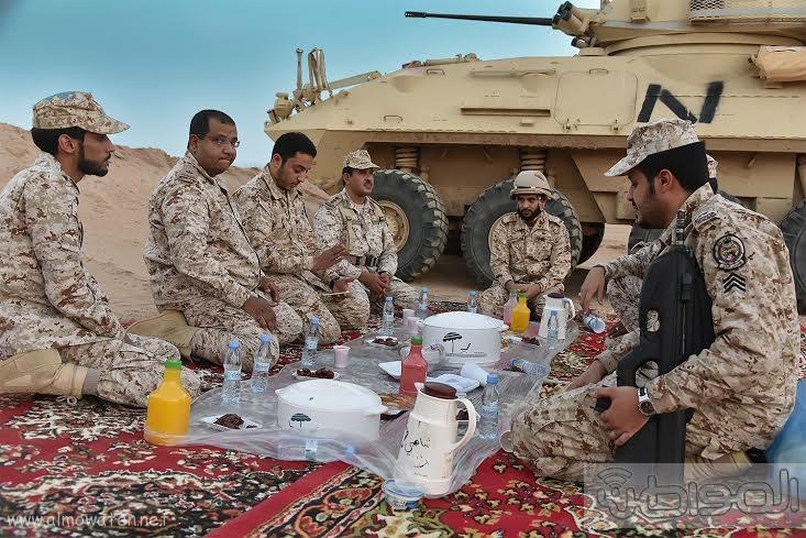 زيارة الحرس الوطني نجران 2