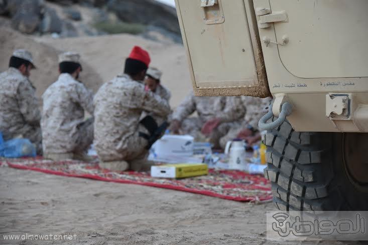 زيارة الحرس الوطني نجران 7