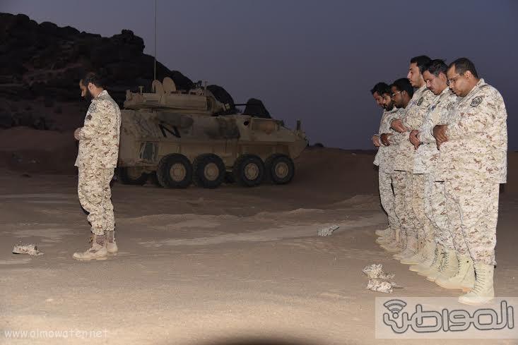 زيارة الحرس الوطني نجران 8