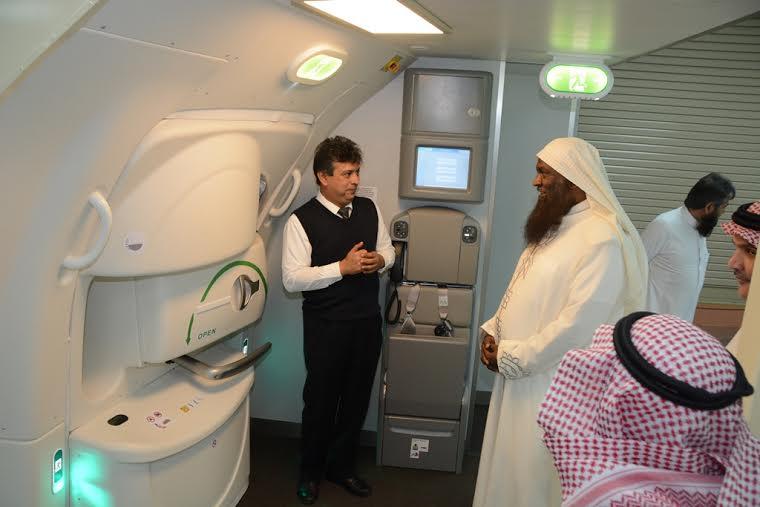 زيارة الشيخ عادل الكلباني للخطوط السعودية