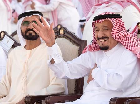 زيارة الملك الخليجية (1)