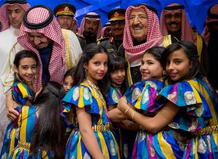 زيارة الملك الخليجية (2)