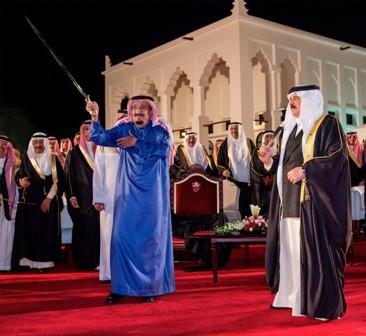 زيارة الملك الخليجية (5)