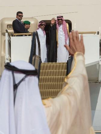 زيارة الملك الخليجية (6)