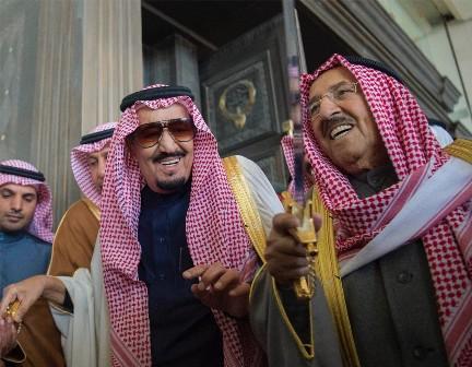 زيارة الملك الخليجية (9)