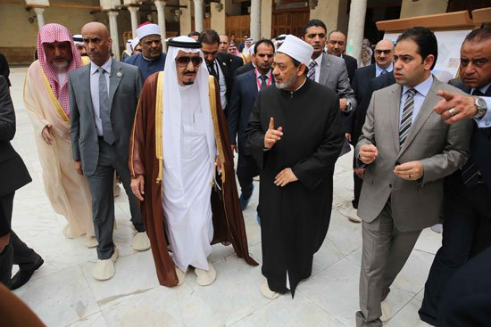 زيارة الملك لجامع الازهر12